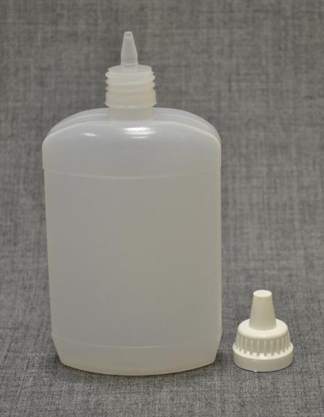plastikoviy-flakon-200ml-ploskiy-s-kapelnitsey