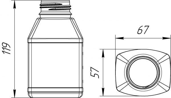 kanistra-plastikovaya-250-ml-chertezh