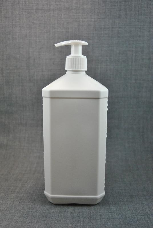 plastikovaya-kanistra-1-litr-belogo-tsveta-s-kryshkoy-s-dozatorom-dlya-antiseptika-foto-1