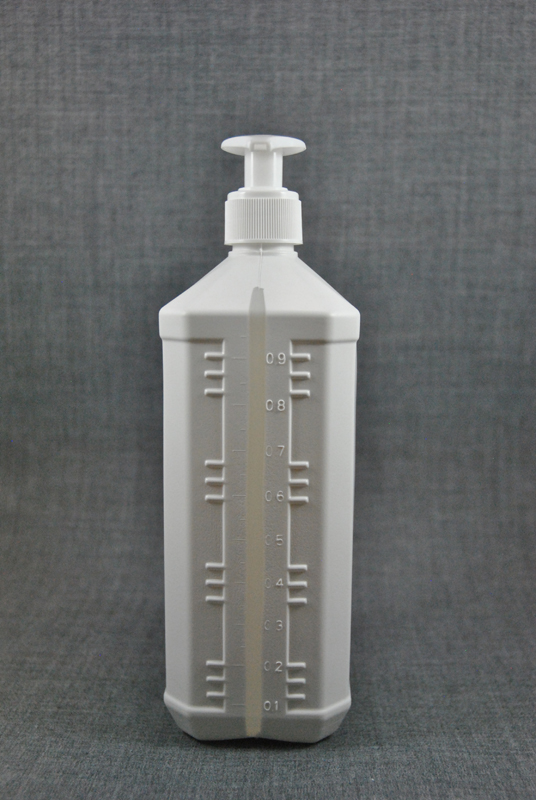 plastikovaya-kanistra-1-litr-belogo-tsveta-s-kryshkoy-s-dozatorom-dlya-antiseptika-foto-3