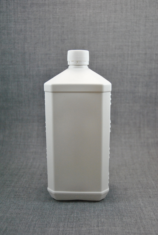 plastikovaya-kanistra-1-litr-belogo-tsveta-s-kryshkoy-s-kontrolem-pervogo-vskrytiya-foto-1