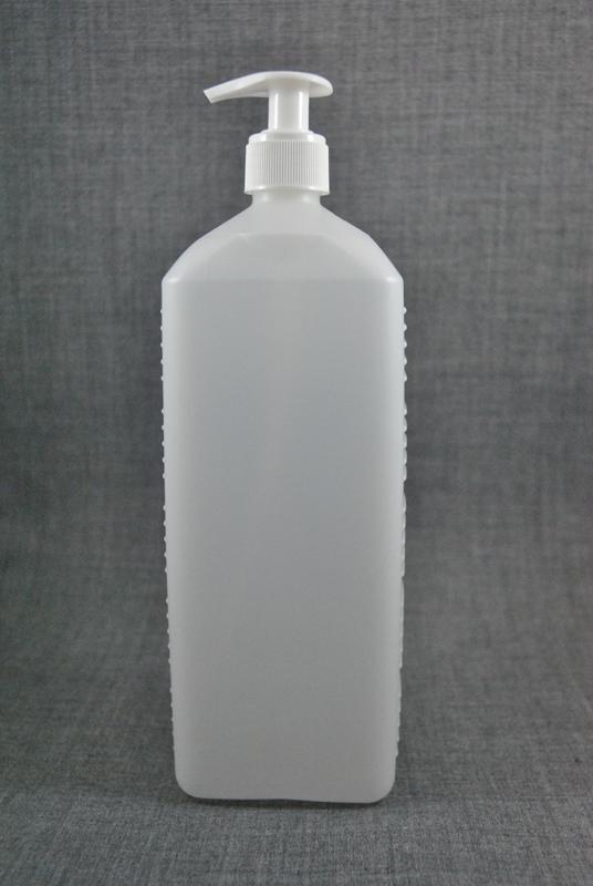 plastikovaya-kanistra-1-litr-prozrachnaya-s-kryshkoy-s-dozatorom-dlya-zhidkogo-myla-foto-1