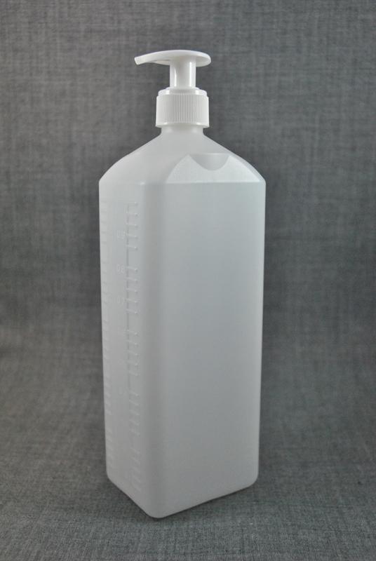 plastikovaya-kanistra-1-litr-prozrachnaya-s-kryshkoy-s-dozatorom-dlya-zhidkogo-myla-foto-2