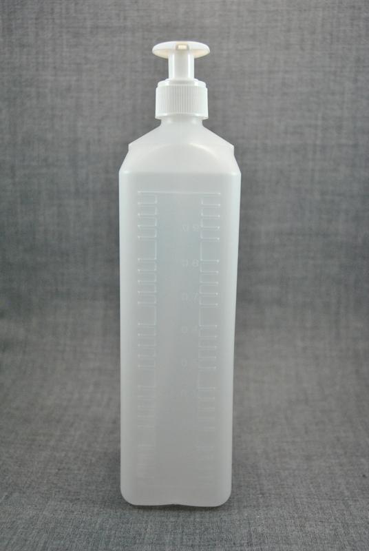 plastikovaya-kanistra-1-litr-prozrachnaya-s-kryshkoy-s-dozatorom-dlya-zhidkogo-myla-foto-3